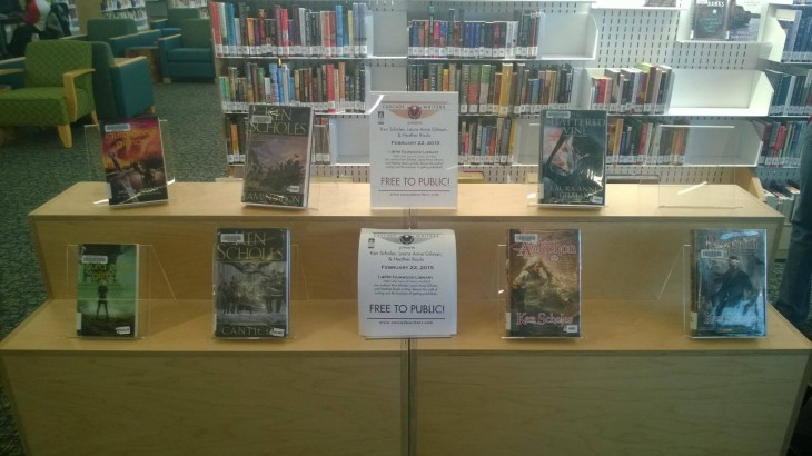 Fairwood Library prepares for H.E. Roulo reading