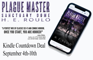 Ad for the Kindle Countdown of Sanctuary Dome from H.E. Roulo from Sept 4-10 2019.